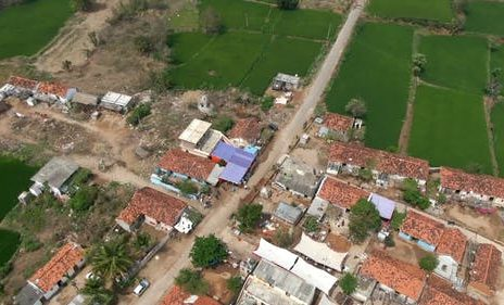 Drone survey of 10 villages in South Solapur