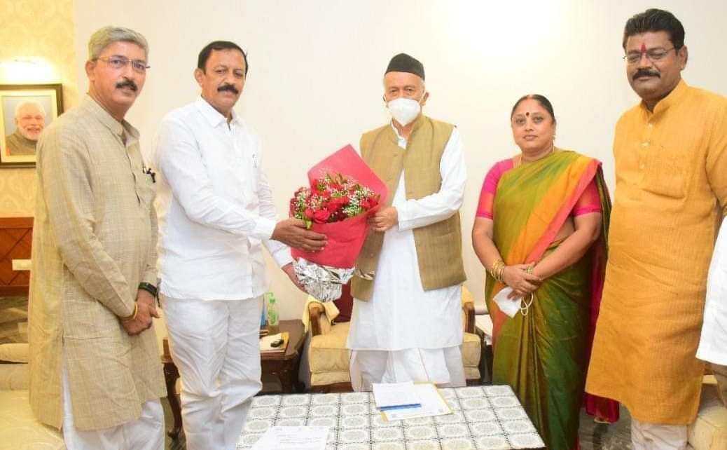 BJP office bearers Governor